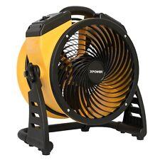 "XPOWER FC-100 Portable 11"" Diameter High Velocity Utility Fan, Air Circulator"