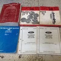 1989 Lincoln Town Car Crown Victoria Grand Marquis Service Shop Manual SET OEM