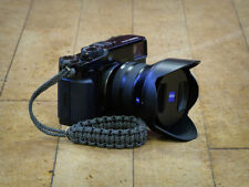 "Grey ""Spotty"" Paracord Wrist Strap for DSLR Compact Cameras Fuji Sony Olympus"