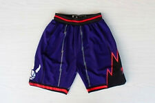 Toronto Raptors Basketball Shorts NBA Pants Men's NWT Stitched Stretch Purple