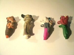 The Lion King Toy Lot of 4 Finger Toys Pumbaa,Timon and Rafiki Lot # 11