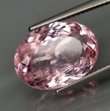 7.83 cts Natural Oval-cut Dazzling-luster AAA Pink VS Morganite (Brazil)