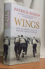 WINGS - 100 YEARS OF BRITISH AERIAL WARFARE by Patrick Bishop (Hardcover)