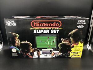 NES Nintendo Konsole Ovp Super Set Sammlerzustand Top