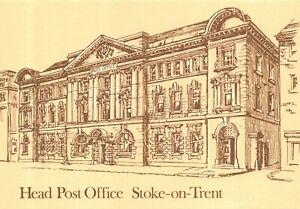 Art Postcard, Head Post Office, Stoke On Trent, Midlands Postal Board BY6
