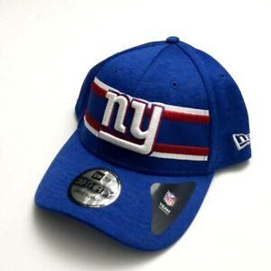 New Era New York Giants 3930 OF 2018 Super Bowl LIII Flex Fitted Hat Blue L/XL