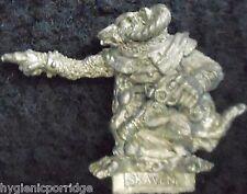 1987 Skaven C22 Sorcerer with Warplock Pistol Chaos Ratmen Citadel War Machine