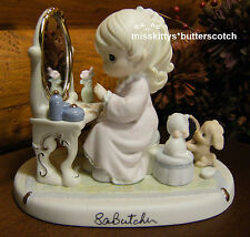 Precious Moments~Rare~2 Signatures~Mib~175277~God 's Love Is Reflected In You~