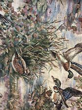 Fly Away Tapestry Fabric. A Nice Print Of Ducks In The Wild.