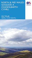 North Wales Tour Map Ordnance Survey 10