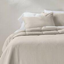 Hig Down Alternative Comforter Set 3 Pcs All Season Reversible Comforter-Green