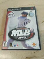 MLB 2004 PlayStation 2 PS2