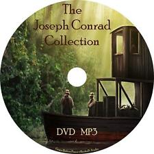 Joseph Conrad Unabridged Audio Book Collection on 1 MP3 DVD Darkness Secret Jim