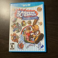 Family Party: 30 Great Games Obstacle Arcade (Nintendo Wii U, 2012) Complete
