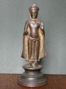 Buddha Khmer Kambodscha Antik Bronze