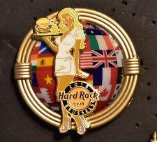 Hard Rock Cafe Brussels World Burger Tour Girl 2016 pin