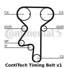ContiTech Zahnriemen - CT975, Breite: 20mm, 162 Zähne, Cam Gürtel - OE Qualität