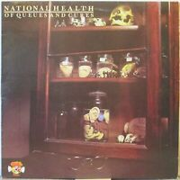 NATIONAL HEALTH Of Queues and Cures LP Top Canterbury/Prog Rock w/Dave Stewart…