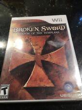 Broken Sword: Shadow Of The Templars Nintendo Wii New Factory Sealed