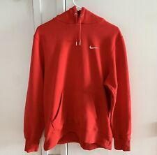 Vintage Nike Swoosh Hoodie Red Travis Scott Size Large