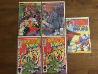 Fantastic Four Vol 2 1997 #9 vs X Men #4 Annual #23 The Thing #32 Marvel Comics