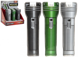 Mini LED Pocket Torch Gadget Light Magnetic 3 assorted Colours 1 Supplied