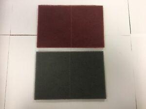 3M Scotch-Brite PRO Hand Pads, Very & Ultra Fine grade 6 in x 9 inch