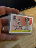 Mickey Mantle 2008 Topps Card #MHR513 New York Yankees Mick Collector League NR