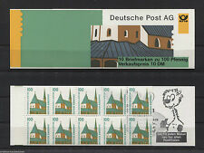 Bund MH 32 postfrisch BRD 5 x 1406 C + D Markenheftchen Sehenswürdigkeiten MNH