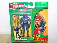 G.I. Joe vs. Cobra Cobra Commander Figure Hasbro 2003