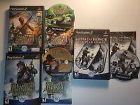 Medal of Honor: Rising Sun, Front Line, & European Assault-CIB NM (PlayStation2)
