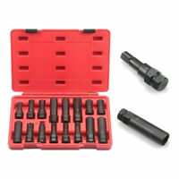 VCT 16-Pc Locking Lug Nut Master Set Wheel Lock Key Removal Tool Kit
