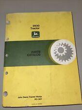 John Deere 2630 Tractor Parts Catalog Manual Original Pc-1401 Original Dealer