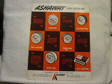 Ashaway Line & Twine Mfg Co 1968 fishing accessories Catalog