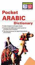 Pocket Arabic Dictionary by Fethi Mansouri (Paperback, 2004)