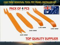 4pcs TOYOTA Radio Door Body Clip Trim Dash Panel Removal Installer Pry Tool Kit