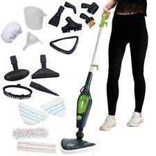Steam Mop Cleaner Handheld Carpet Floor Washer 1500W Multi 10in1 Easy Steam New