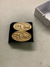 Canadian National Railroad 30 & 35 Year Service Pins Very Rare Gold