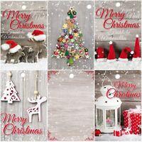 25 Geschenkanhänger Weihnachten, 52 x 74 mm, 5 nostalgische Motive je 5 Anhänger
