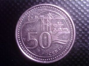 SINGAPORE   50   CENTS   2013     SEP21