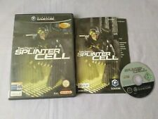 Juego Nintendo Gamecube Tom Clancy's Splinter Cell.Completo!