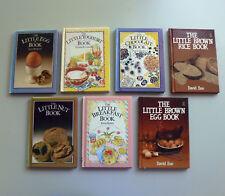 Bulk Lot The Little Book Nut Egg Yoghurt Chocolate Breakfast Brown Rice cookbook