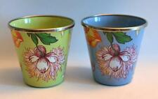 McKenzie-Childs Enamelware Cups