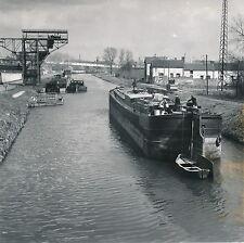 NEUVILLE SUR L'ESCAUT c. 1950 - Canal Péniche Halage Toueur Nord DIV 6768