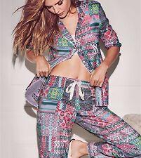 NEW Women Victoria's Secret Comfortable Pajama Sleepwear Nighties Pants Set