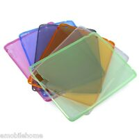 Clear Case Flexible Soft Transparent TPU Silicon Back Cover case for iPad 2 3 4