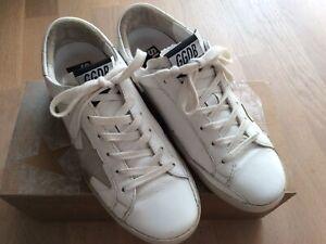 Golden Goose Deluxe Superstar Sneaker Weiß Größe 36
