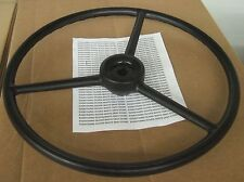 """REPLACEMENT STEERING WHEEL OLIVER TRACTOR 18"""" 7/8"""" KEYED SUPER 55 770 880"""