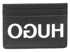 "Hugo Boss Reverse ""HUGO"" Logo Card Holder - NWT - 100% AUTHENTIC! - Gift Boxed!"