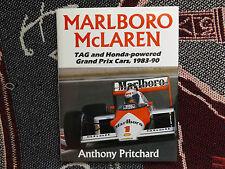Marlboro McLaren-Anthony Pritchard - 1990 HB DJ Livre-Tag Honda F1 1983-90